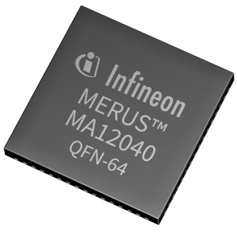 Semiconductors Amplifiers and Buffers Audio Amplifiers MA12040XUMA1 by Infineon Technologies