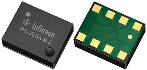 Industrial Control Sensors and Accessories Pressure, Force DPS310XTSA1 by Infineon Technologies