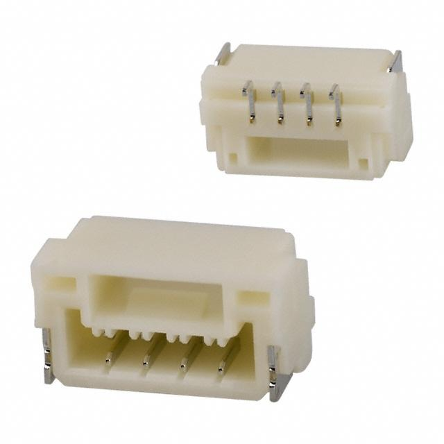 Connectors SM04B-GHS-TB(LF)(SN)- by JST Sales America Inc.