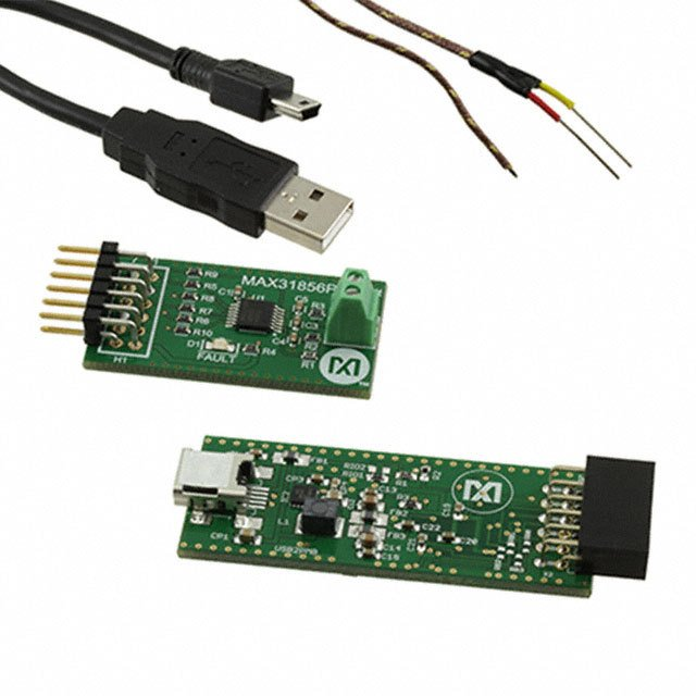 Semiconductors Microprocessors & Microcontrollers Development Kits MAX31856EVSYS# by Maxim Integrated
