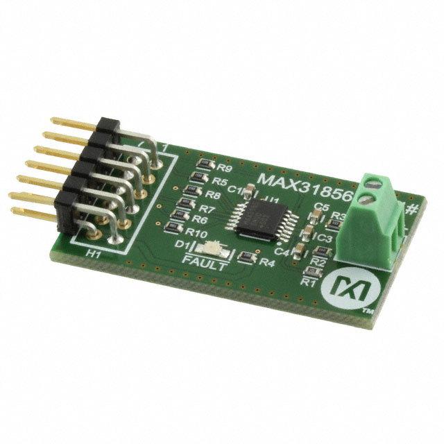 Semiconductors Programmable Logic MAX31856PMB1# by Maxim Integrated