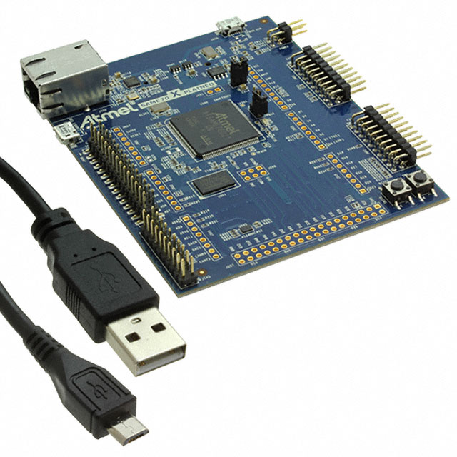 Evaluation & Development Kits and Boards ATSAME70-XPLD by Microchip