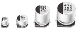 Passive Components Capacitors Aluminium Electrolytic Capacitors EEE1EA101UP by Panasonic