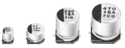 Passive Components Capacitors Aluminium Electrolytic Capacitors EEE1VA470AP by Panasonic