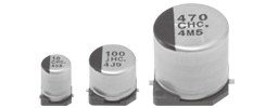 Passive Components Capacitors Aluminium Electrolytic Capacitors EEEHC1C100R by Panasonic
