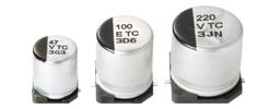 Passive Components Capacitors Aluminium Electrolytic Capacitors EEETC1C471V by Panasonic