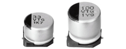 Passive Components Capacitors Aluminium Electrolytic Capacitors EEETG1J101UP by Panasonic