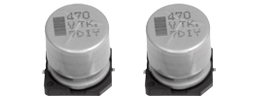Passive Components Capacitors Aluminium Electrolytic Capacitors EEETK1J101AQ by Panasonic
