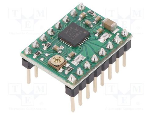 Semiconductors Power Management Motor Drivers A4988 STEPPER MOTOR DRIVER CARRIER by Pololu