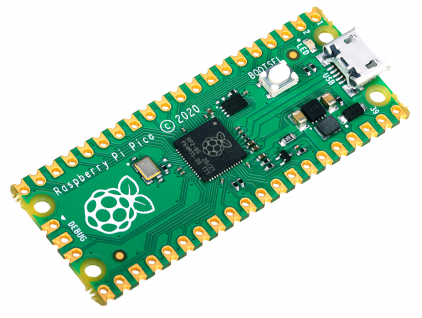 Semiconductors Analog to Digital, Digital to Analog  Converters RP2040 by Raspberry Pi