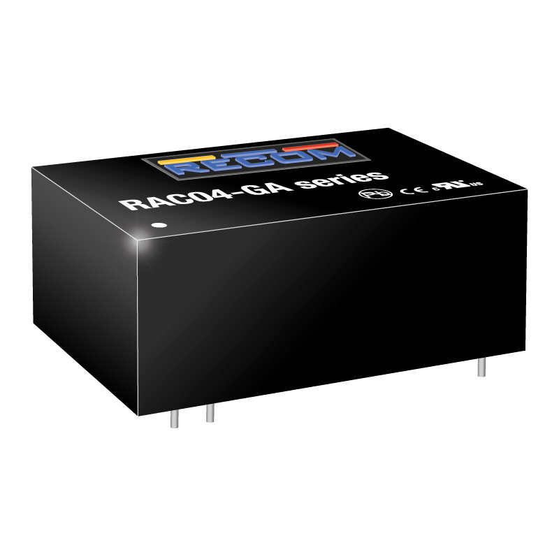 Accessories Power Entry Modules RAC04-12SGA by Recom Power