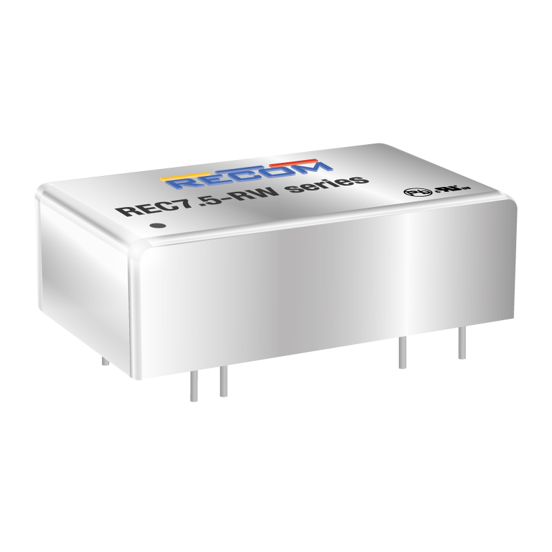 Power Products Voltage Converters, Inverters, Transformers DC-DC Converters REC7.5-2415DRW/H2/A/M by Recom Power