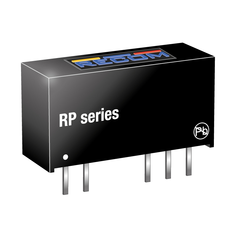 Semiconductors Power Management DC - DC Converters RP-1212S by Recom Power
