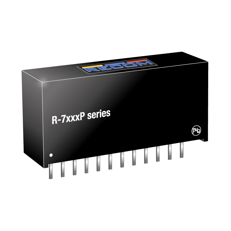 Semiconductors Power Management DC - DC Converters R-745.0P by Recom Power