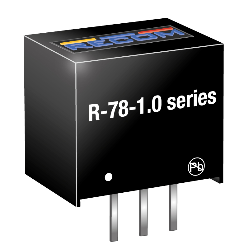 Semiconductors Power Management DC - DC Converters R-785.0-1.0 by Recom Power