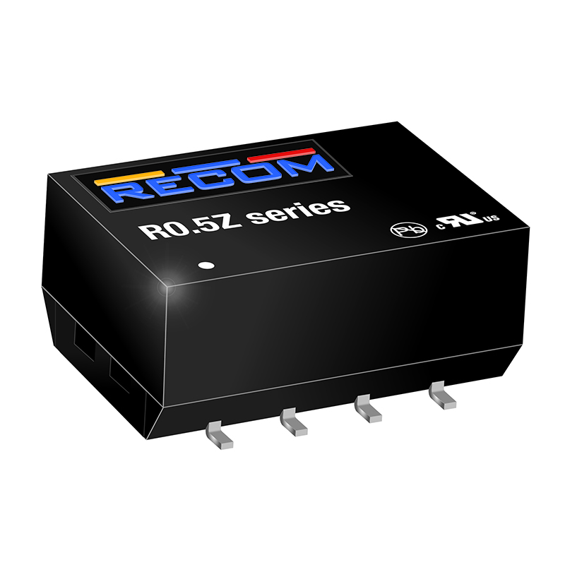 Power Products Voltage Converters, Inverters, Transformers DC-DC Converters R0.5Z-0505 by Recom Power