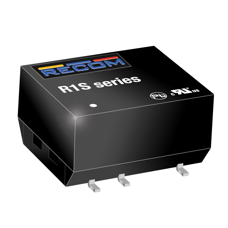 Power Products Voltage Converters, Inverters, Transformers DC-DC Converters R1S-1224/HP by Recom Power