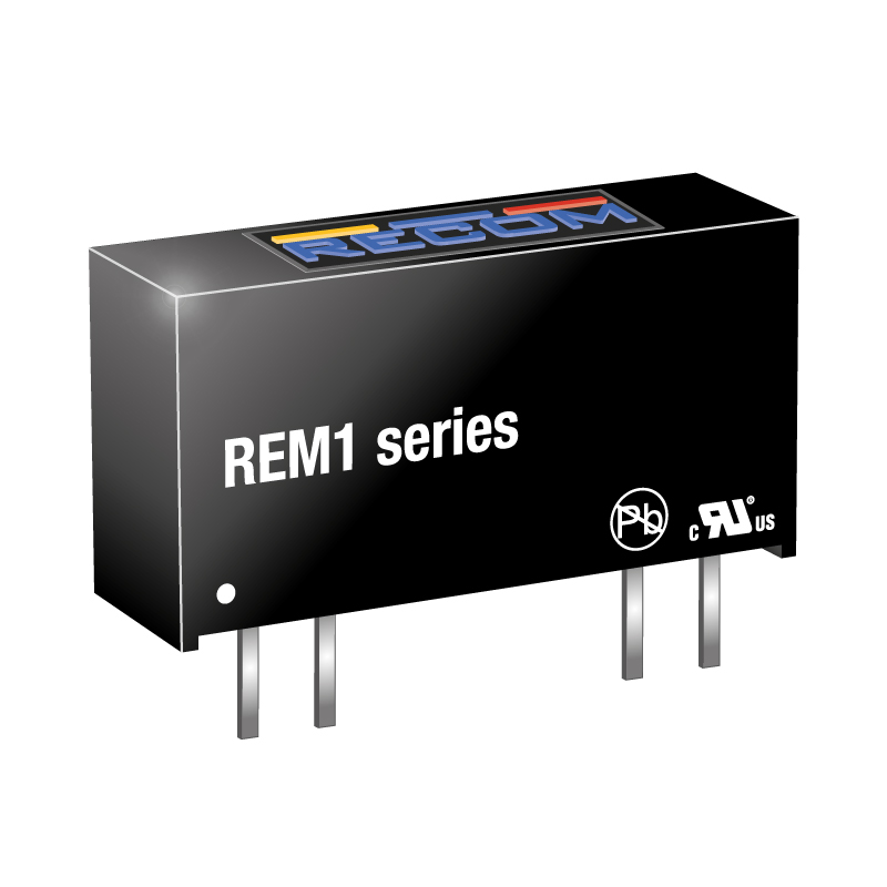 Power Products Voltage Converters, Inverters, Transformers DC-DC Converters REM1-0505S by Recom Power