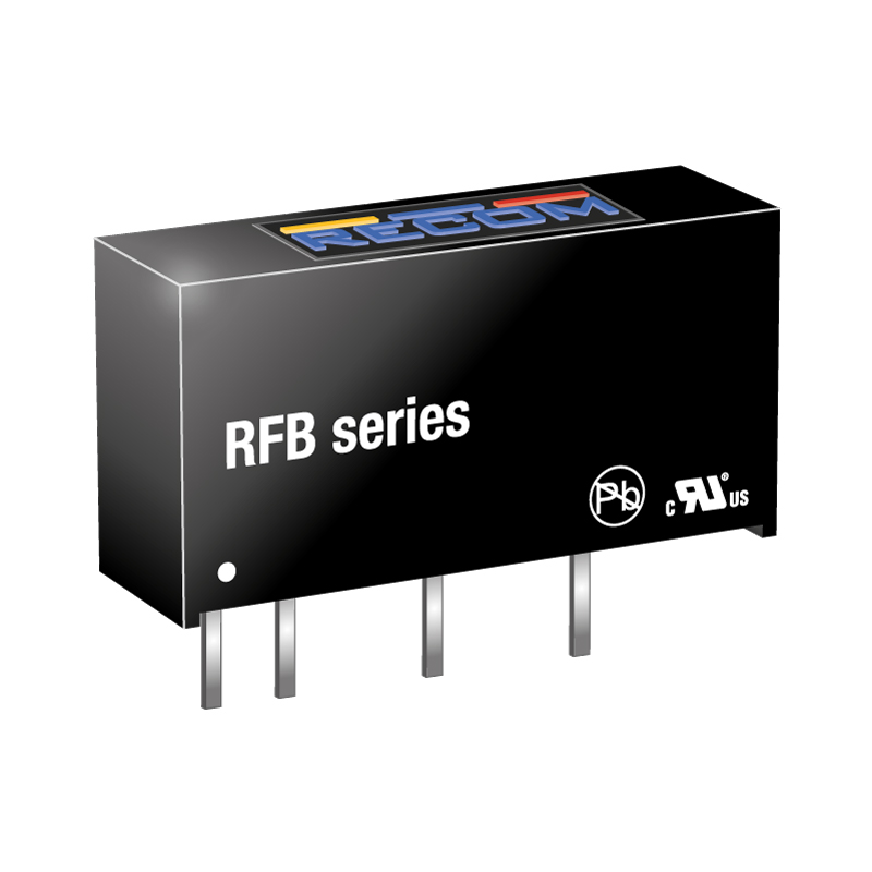Semiconductors Power Management DC - DC Converters RFB-0505S by Recom Power