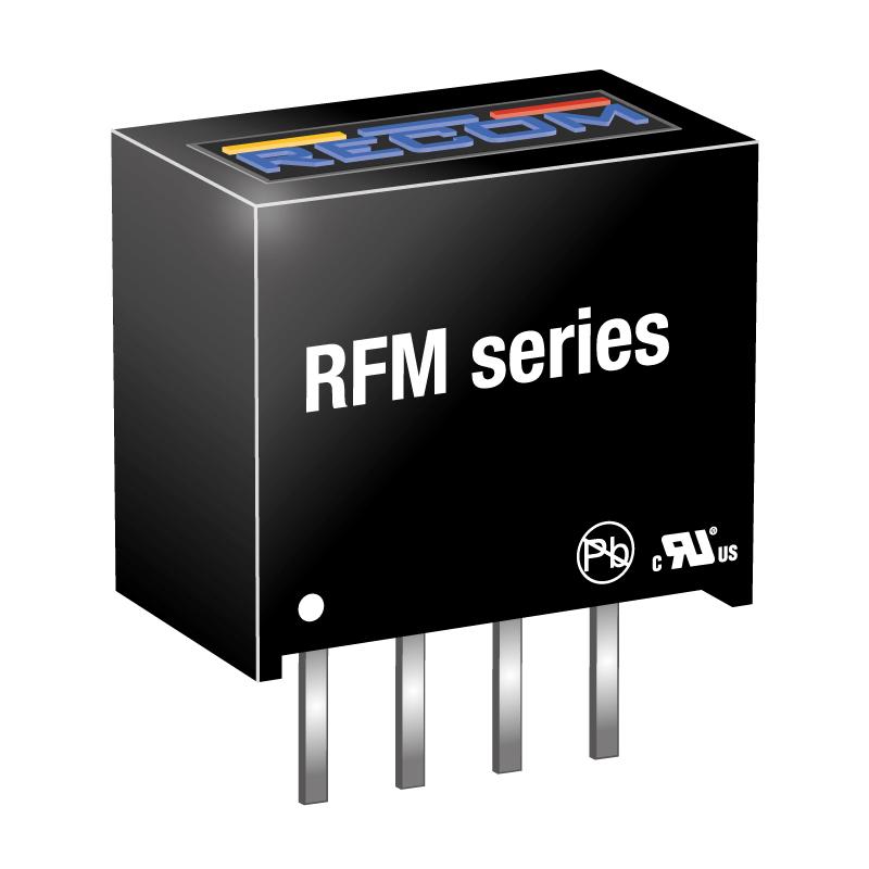 Semiconductors Power Management DC - DC Converters RFM-0505S by Recom Power