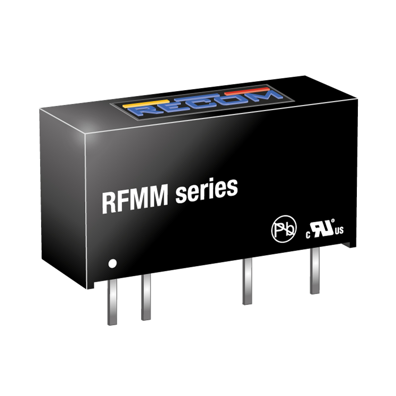 Semiconductors Power Management DC - DC Converters RFMM-0505S by Recom Power