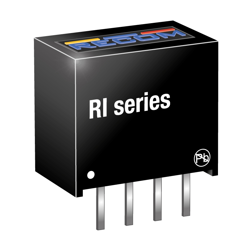 Power Products Voltage Converters, Inverters, Transformers DC-DC Converters RI-0515S/P by Recom Power