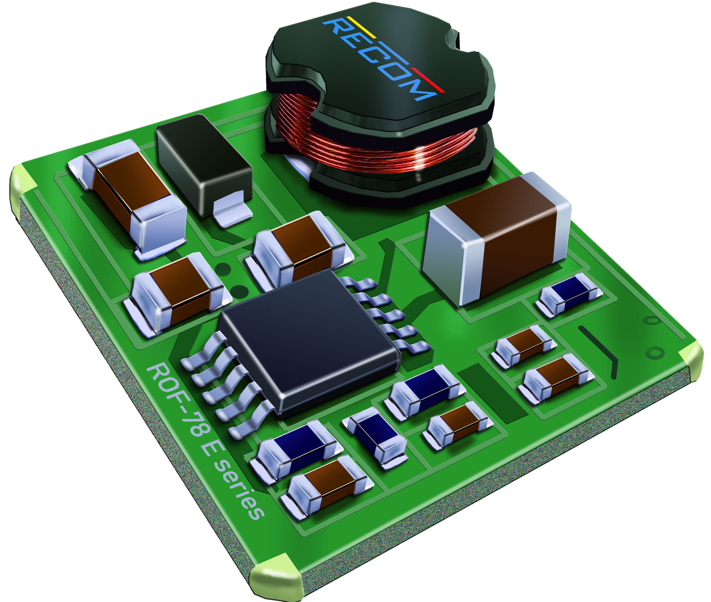 Semiconductors Power Management DC - DC Converters ROF-78E5.0-0.5SMD-R by Recom Power