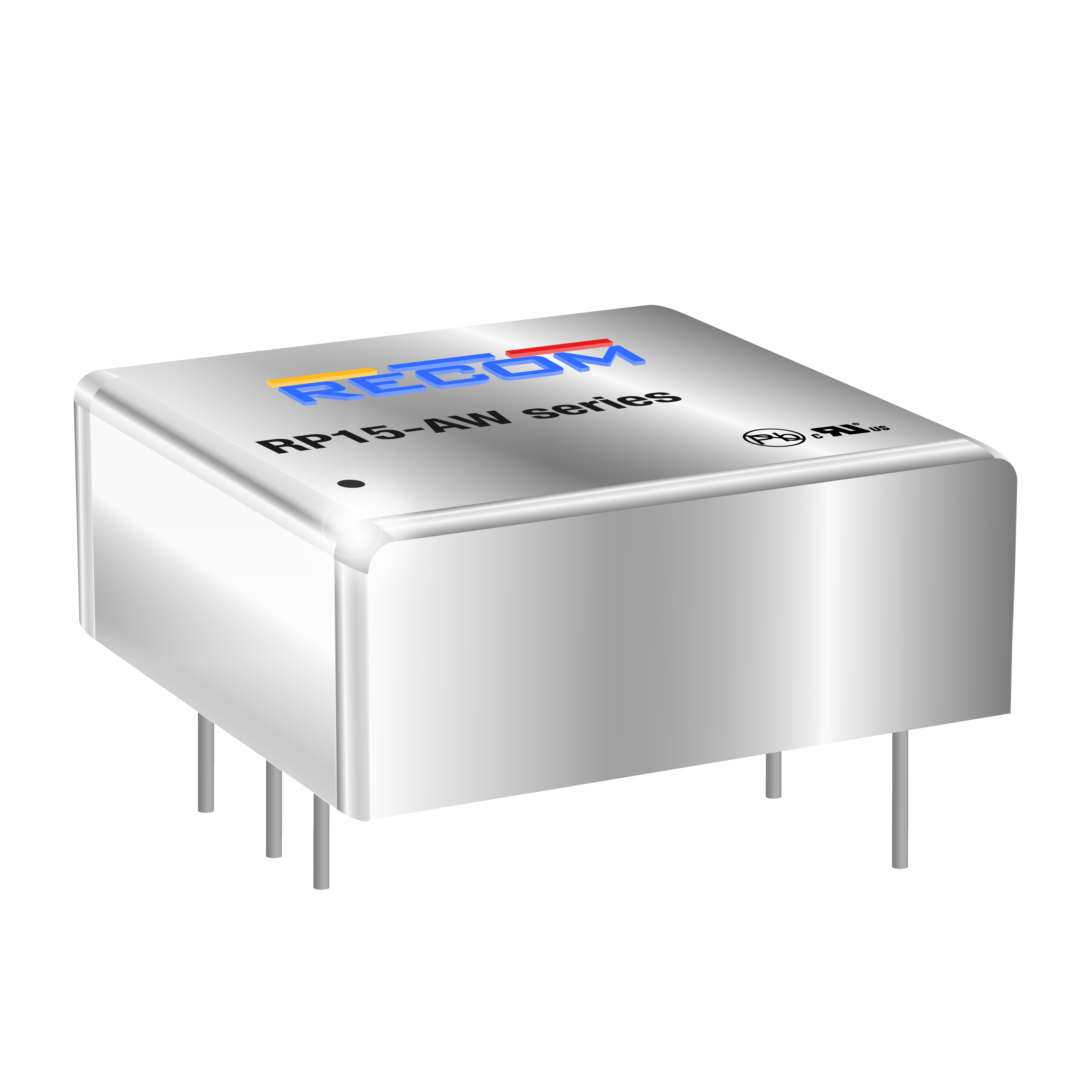 Power Products Voltage Converters, Inverters, Transformers DC-DC Converters RP15-2412SAW by Recom Power