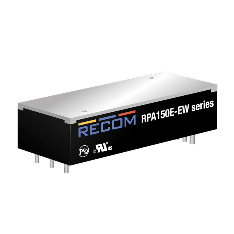 Power Products Voltage Converters, Inverters, Transformers DC-DC Converters RPA150E-4812SEW/P by Recom Power