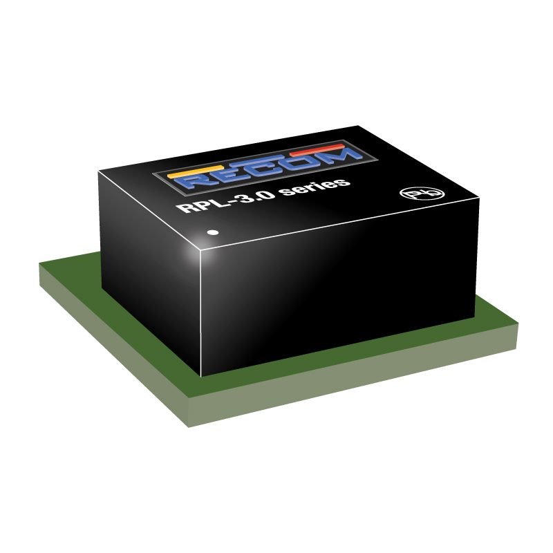 Semiconductors Analog to Digital, Digital to Analog  Converters RPL-3.0-CT by Recom Power
