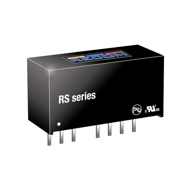 Power Products Voltage Converters, Inverters, Transformers DC-DC Converters RS-2412D/H3 by Recom Power
