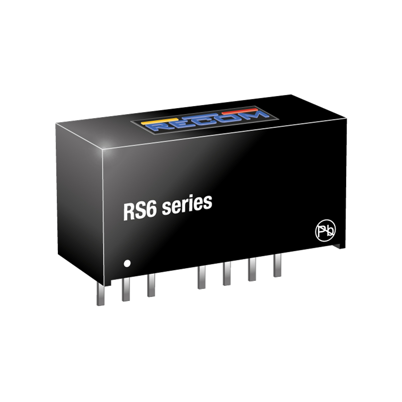 Power Products Voltage Converters, Inverters, Transformers DC-DC Converters RS6-2405S by Recom Power