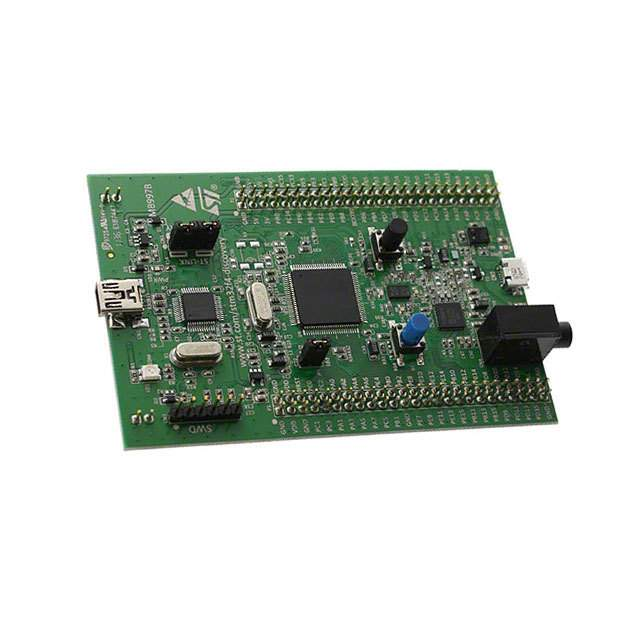 STM32F4DISCOVERY footprint & symbol by STMicroelectronics