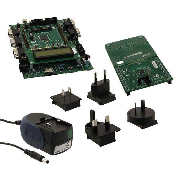 STM8/128-EV/TS footprint & symbol by STMicroelectronics