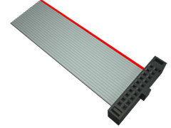 Ribbon Cables FFSD-04-S-01.00-01 by Samtec