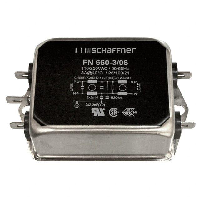 FN660-3-06 by Schaffner EMC Inc.