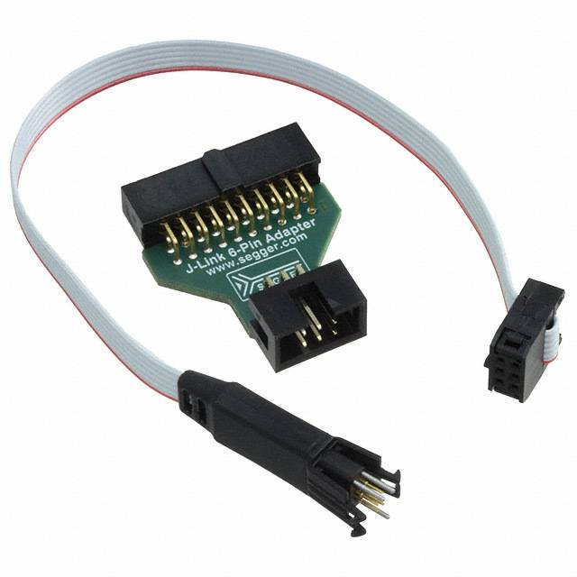 Semiconductors Microprocessors & Microcontrollers Development Kits 8.06.16 J-LINK 6-PIN NEEDLE ADAPTER by Segger Microcontroller Systems
