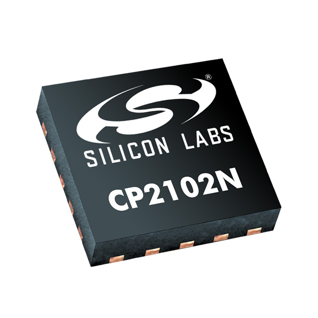 Image of CP2102N-A01-GQFN20 by Silicon Labs