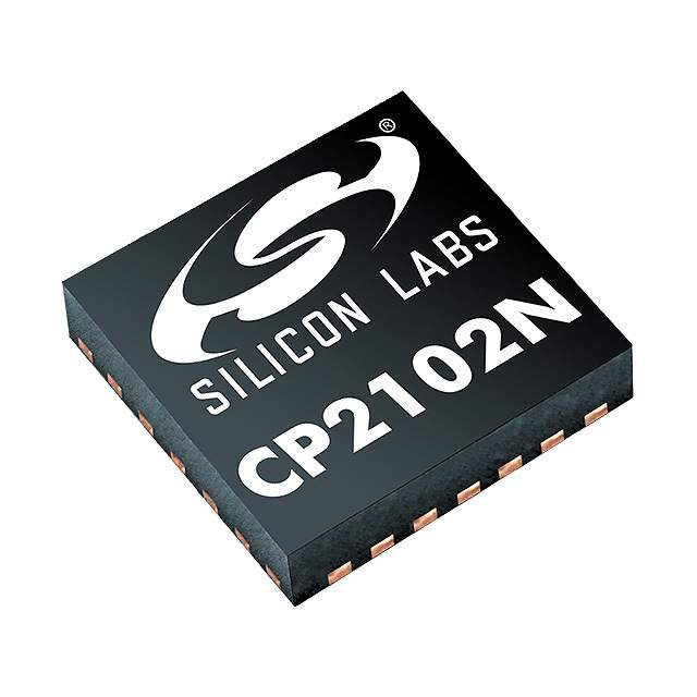 Semiconductors Interface ICs CP2102N-A02-GQFN28R by Silicon Labs