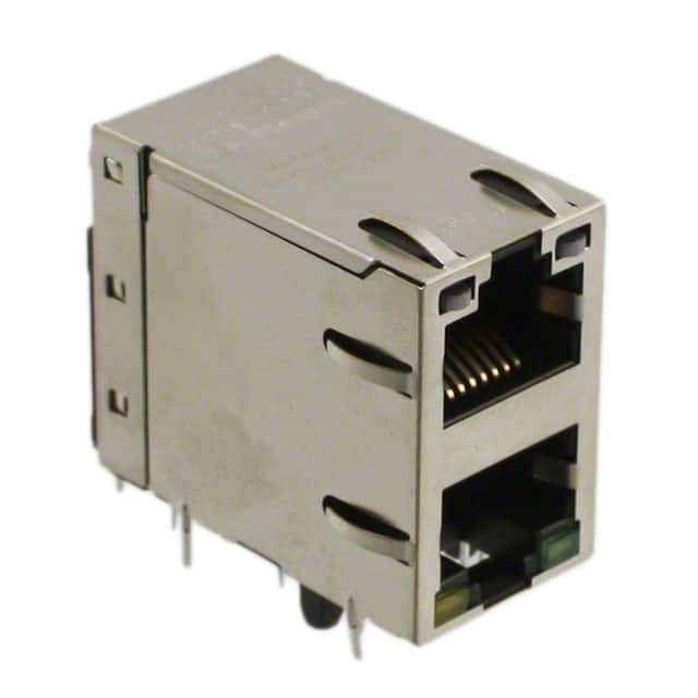 Connectors Modular Connectors 0845-2D1T-E4 by Bel Magnetic Solutions