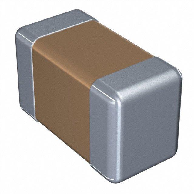 Passive Components Capacitors Single Components C1608C0G1H102J080AA by TDK-Lambda Americas Inc