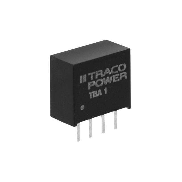 Power Products Voltage Converters, Inverters, Transformers DC-DC Converters TBA 1-0510 by Traco Power